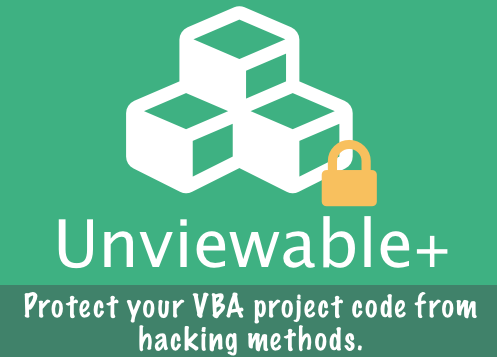 The Best Way To Protect Your VBA Code