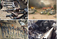 MILITARY RESCUES 84, CAPTURES BOKO HARAM'S WEAPONS