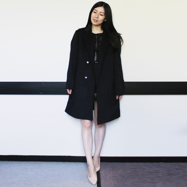 Lapel Longline Single Breasted Wool Coat cheap, cheap mens longline wool coat, gamiss review blog, gamiss coat review blog, gamiss mens clothing, gamiss outfit, boyfriend coat blog