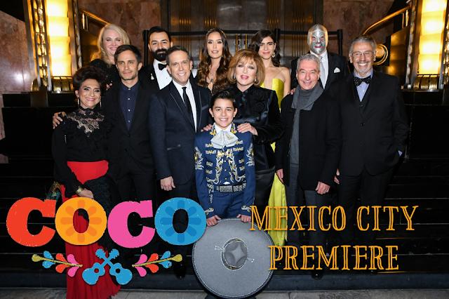 Coco Mexico City Premiere