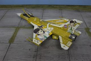 F-16C The Idolmaster 1/48.