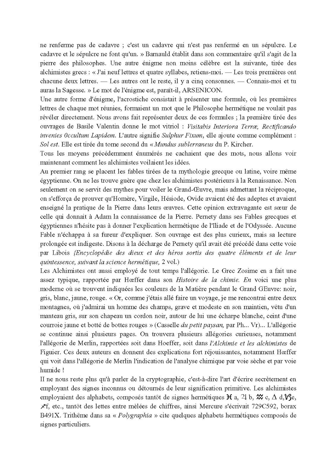 Favori Le Miroir Alchimique: ALBERT POISSON Théories et symboles des  WT74