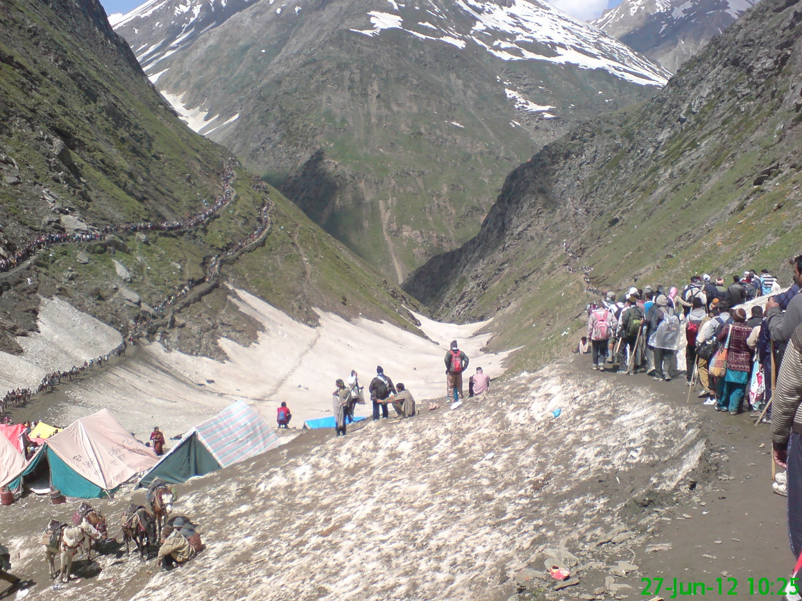 dreams of kailash amarnath yatra 2012 �baltal route