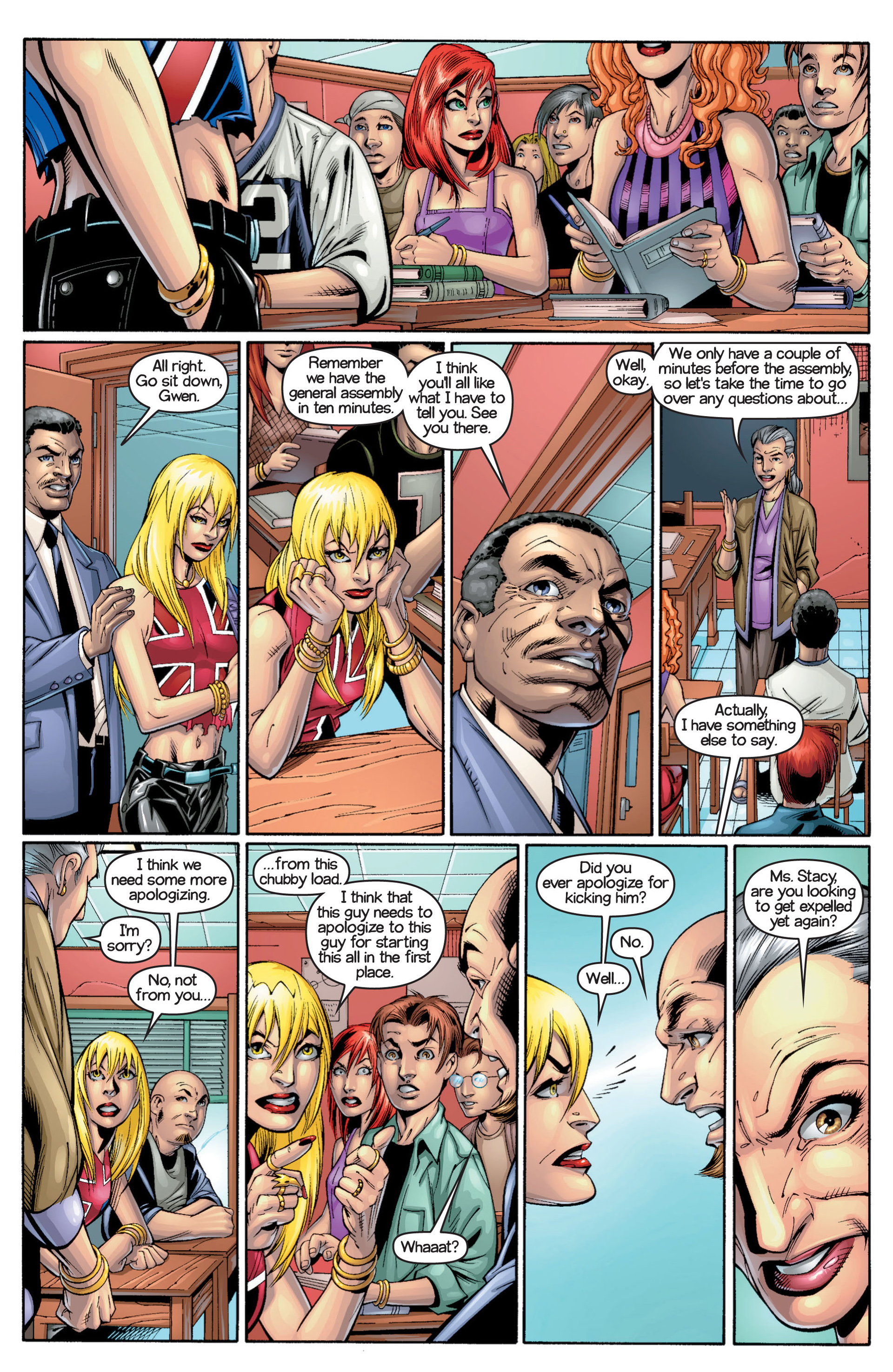Read online Ultimate Spider-Man (2000) comic -  Issue #17 - 7