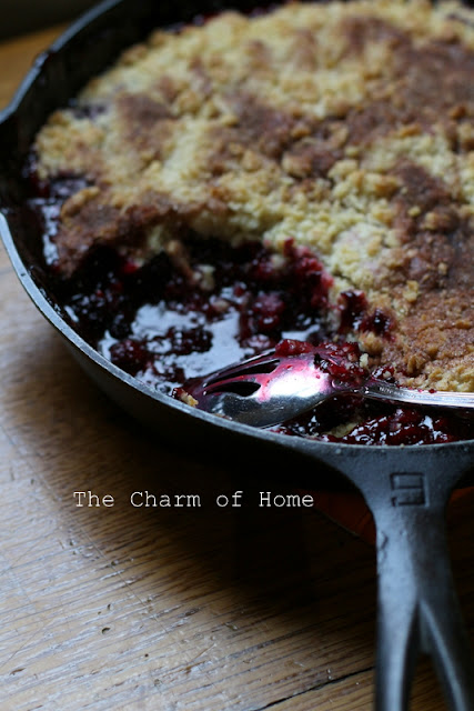 Blackberry Cobbler: The Charm of Home
