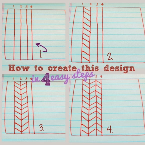 How to draw a tribal pattern