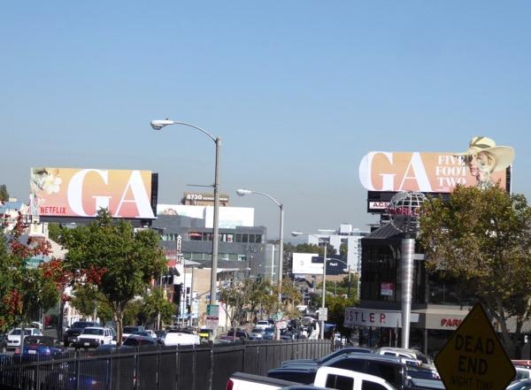 Gaga Five Feet Two Netflix billboards
