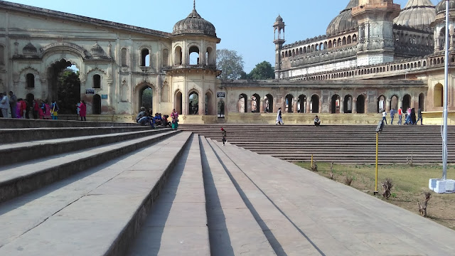 stairs to imambara