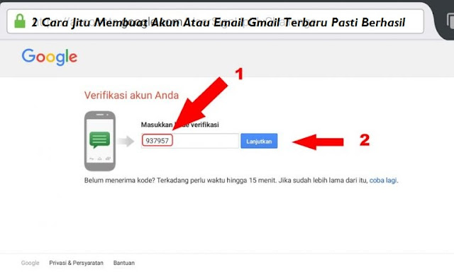 2 Cara Jitu Membuat Akun Atau Email Gmail Terbaru Pasti Berhasil Akhir 2018