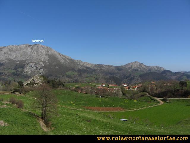 Ruta Ardisana, pico Hibeo: Pista desde Ardisana