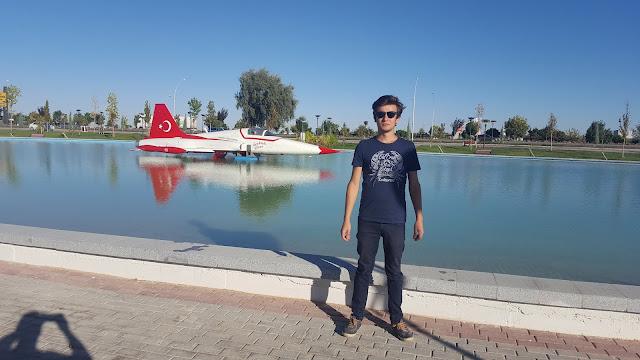 Harun İstenci Konya'da Türk Yıldızları Parkında