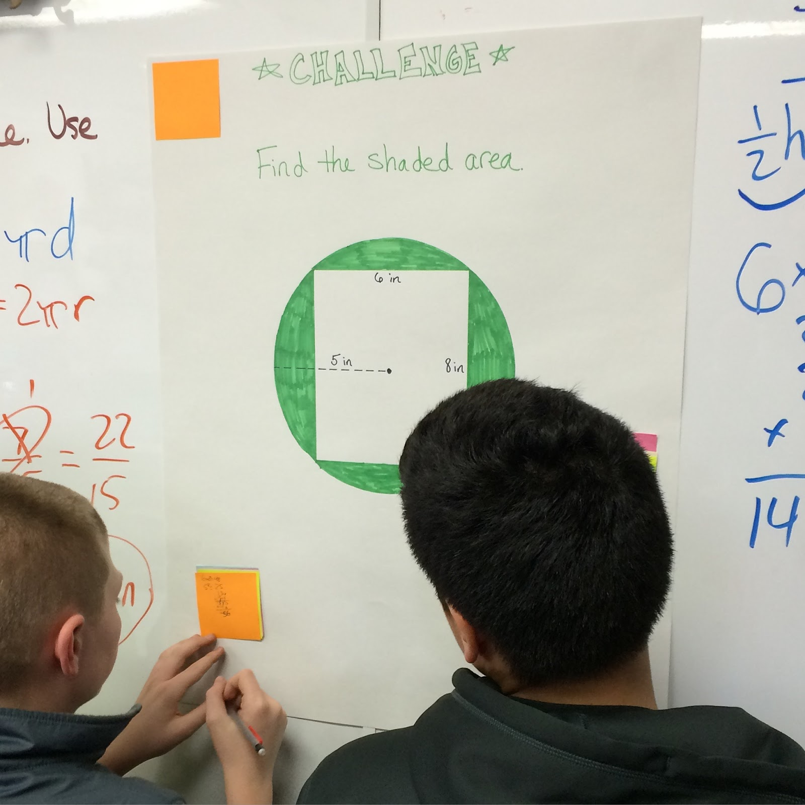 Middle School Math Man Area Review Parallelograms