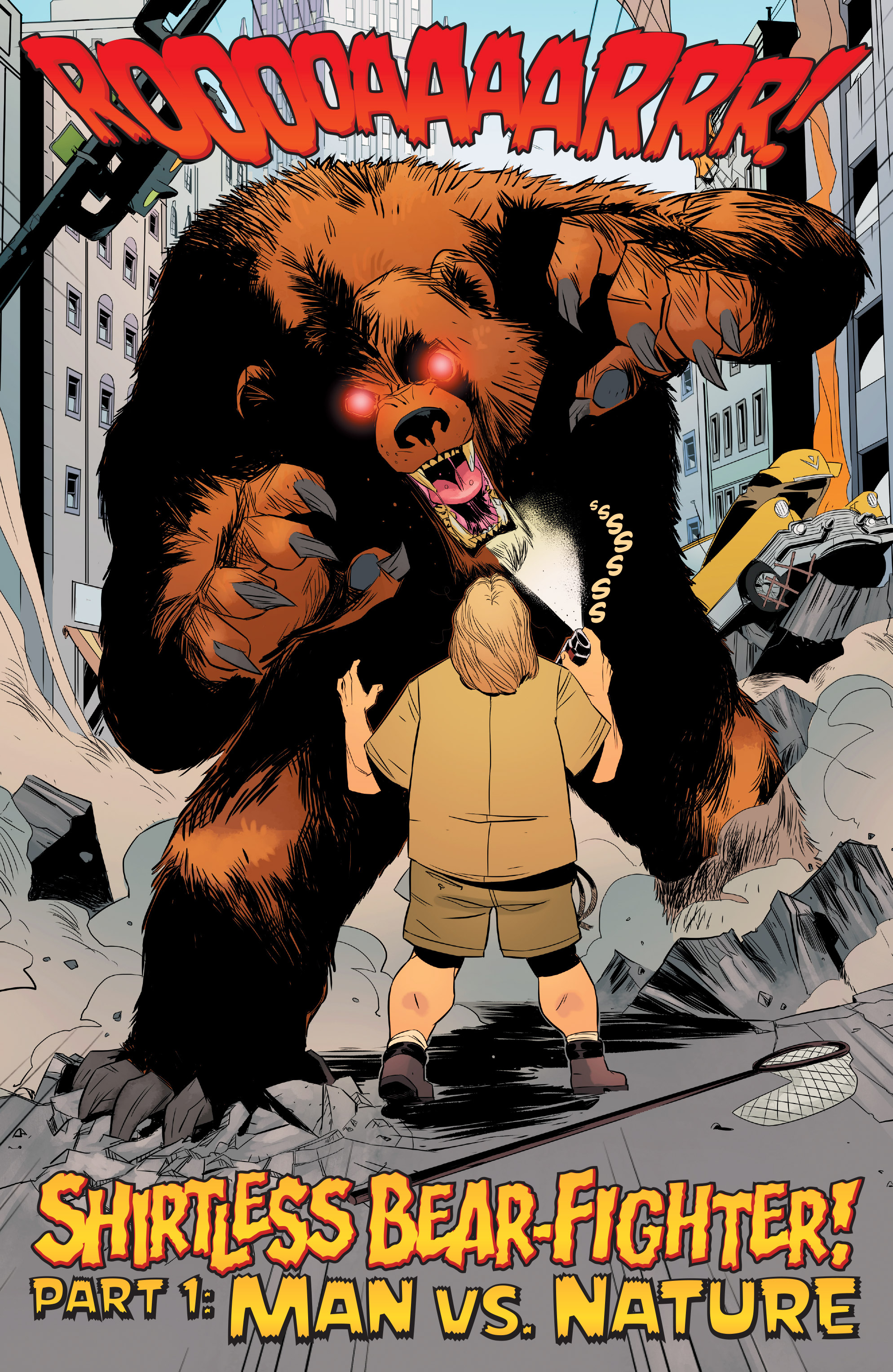 Read online Shirtless Bear-Fighter! comic -  Issue #1 - 4