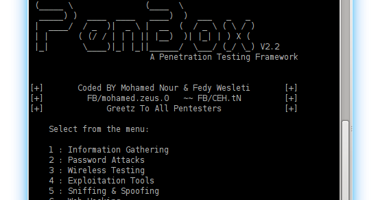 PenBox v2.2 - A Penetration Testing Framework (The Hacker ...