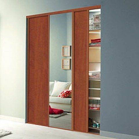 30 Functional & Contemporary Sliding Rolling Wardrobe Bedroom ...