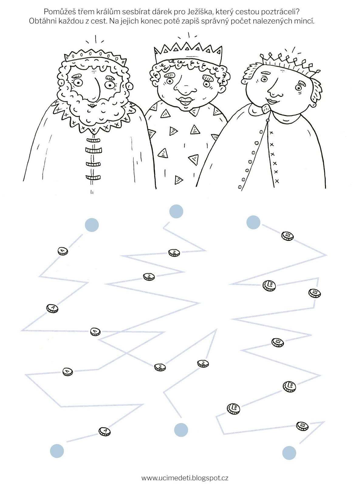 Pracovni List Tri Kralove