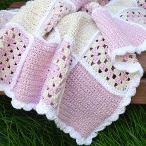 Sweet Dreams Baby Blanket - Corchet Pattern