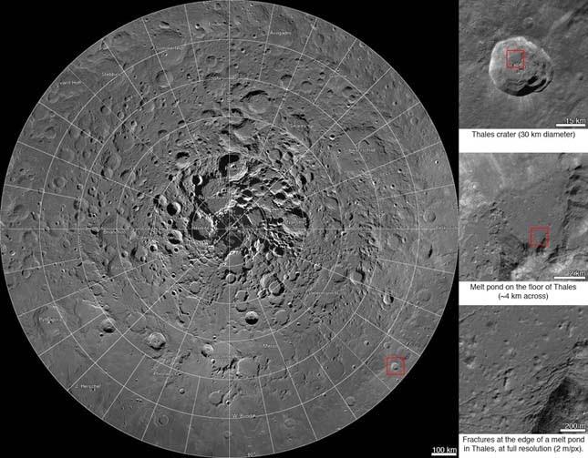 867 milliárd pixeles felvétel a Holdról