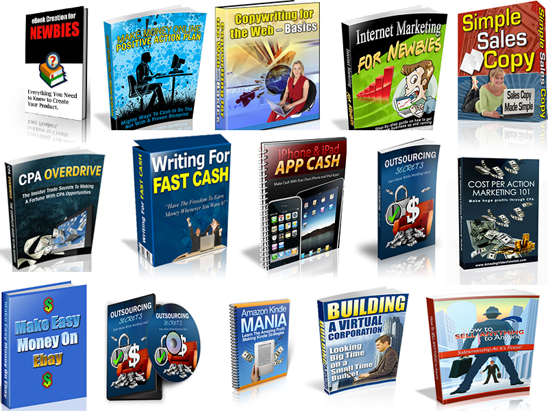 40 Ebooks Mega Collection with Master Re-Sell Rights ...