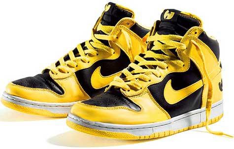 Zapatillas Nike Dunk HI Killa Bee de Wu-Tang Clan