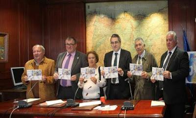 Presentación del sello de Severo Ochoa en Luarca