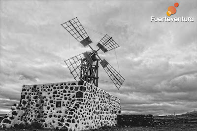 Photo of a typical Fuerteventura Mill
