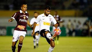 Corinthians empata com a Ferroviária em 1 a 1 em Araraquara
