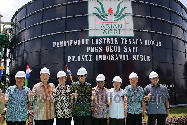 Asian Agri Pakai Biogas dari Limbah Sawit untuk Hasilkan Listrik