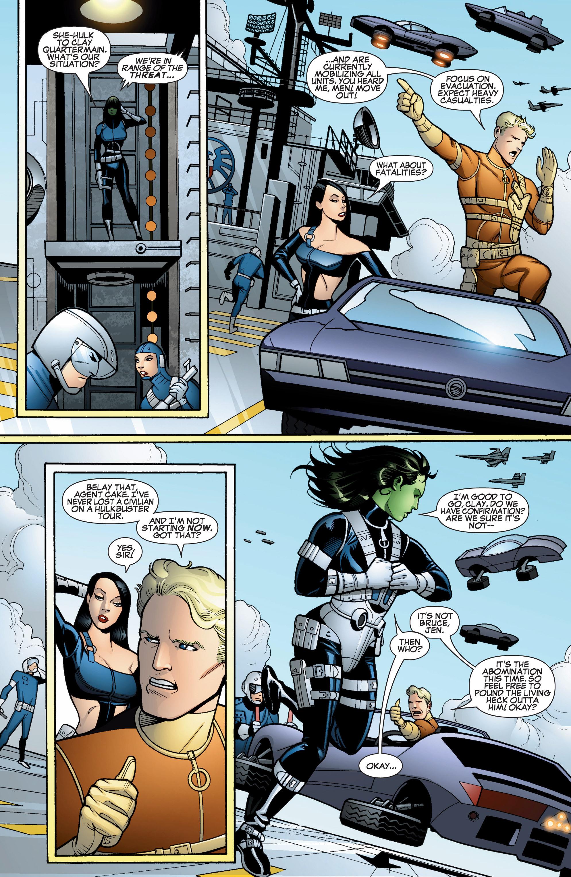 Read online She-Hulk (2005) comic -  Issue #15 - 6