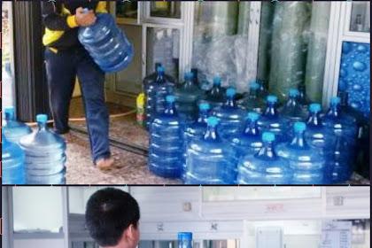 Laba penghasilan atau keuntungan usaha air galon isi ulang oxxy dan sebagainya