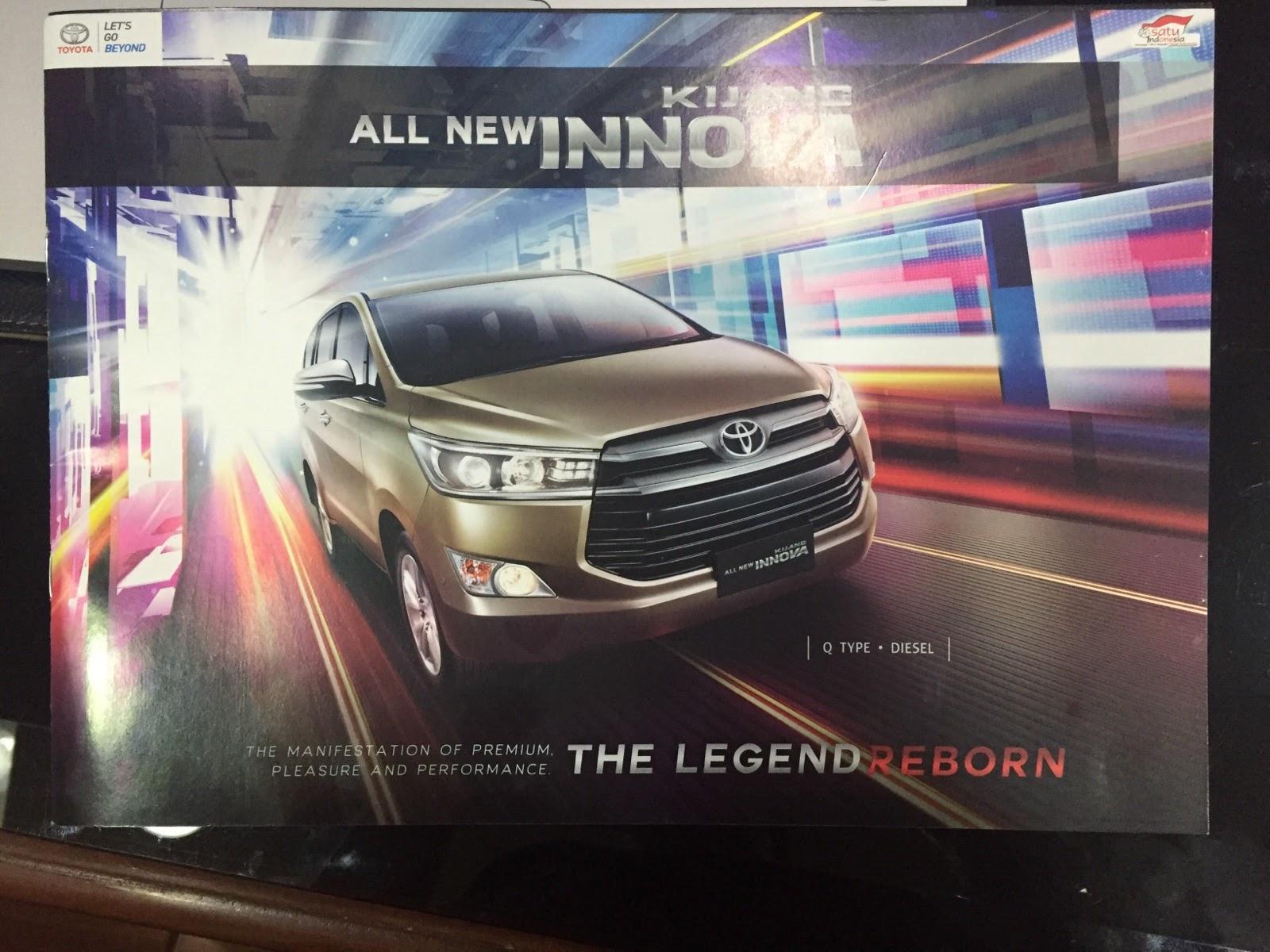 All New Kijang Innova Type Q Grand Avanza 1.3 Veloz A/t Herwono Banyu Alas Toyota 2015