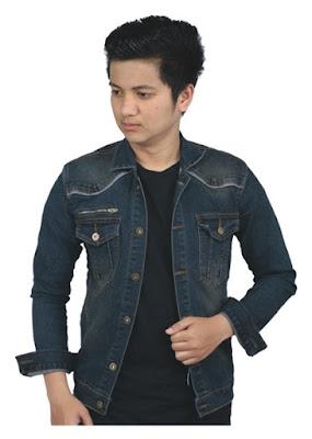 jaket jeans pria original bandung