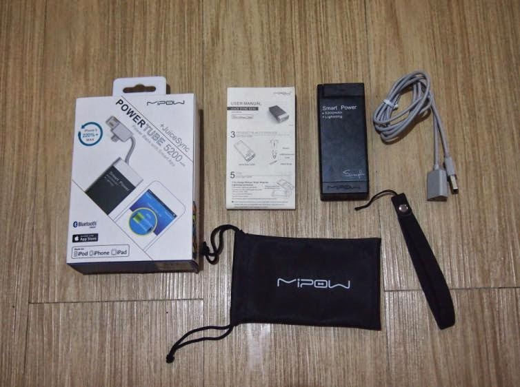MiPow Juice Sync 5200 Power Bank Unboxing and Review