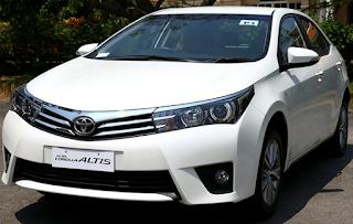 Mobil Toyota Corolla Altis Tulungagung