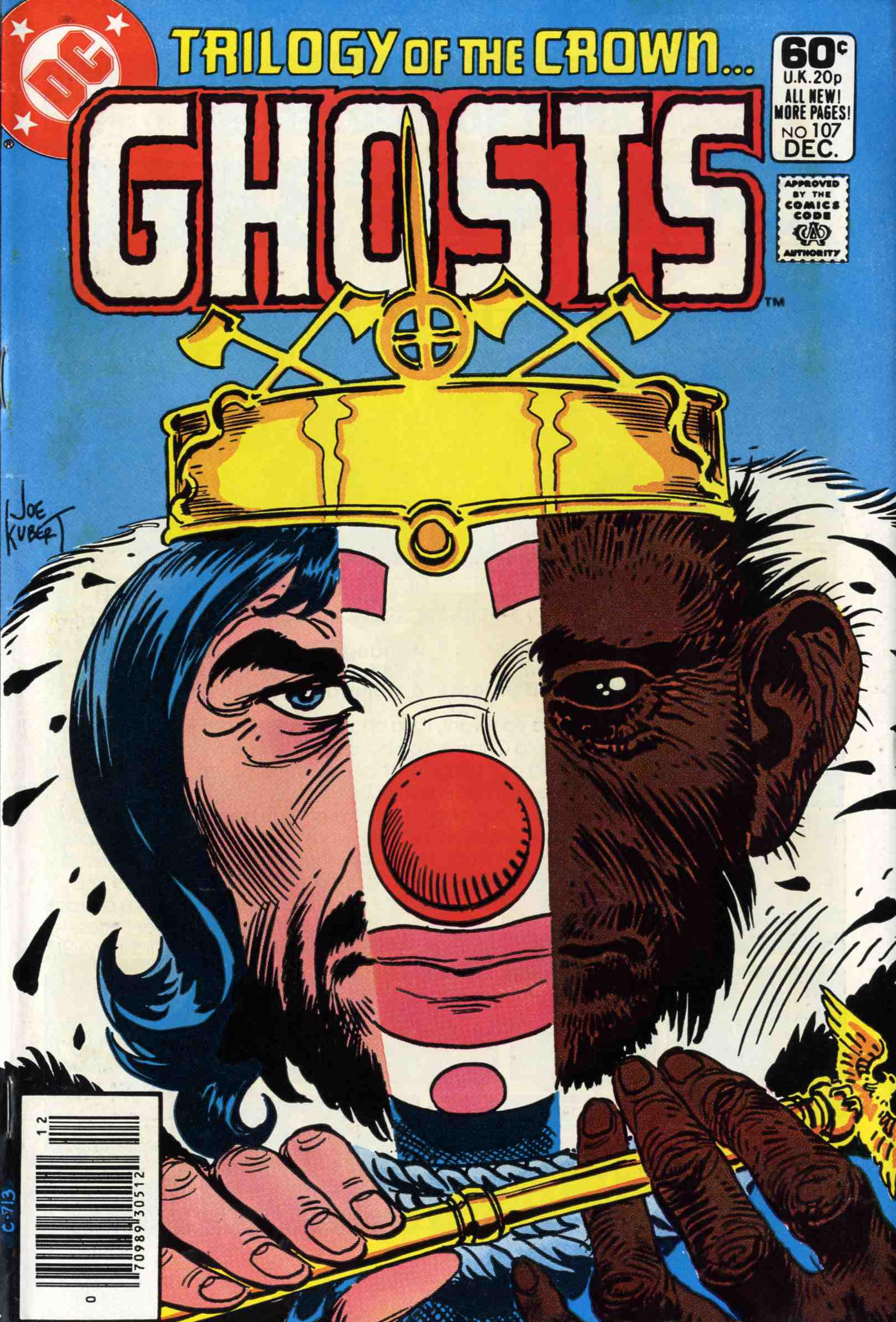 Read online Ghosts comic -  Issue #107 - 1