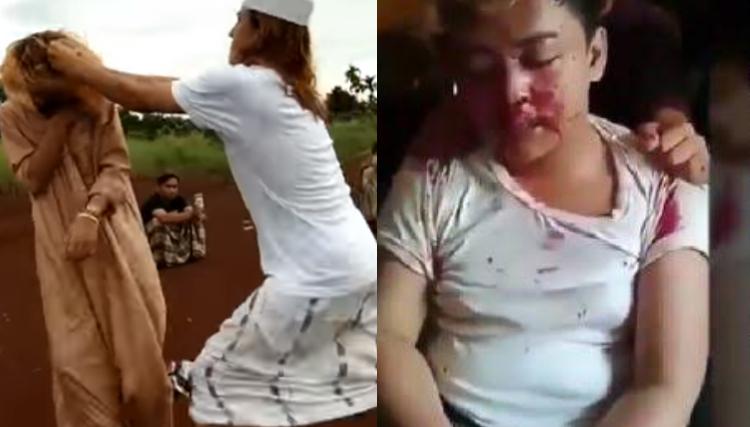Citaten Politiek Luar Negeri : Setelah di smackdown korban dibotakin kepalanya dijadikan asbak rokok
