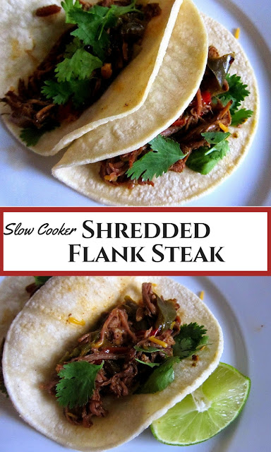 ... Cooking Creations: Shredded Flank Steak for Tacos (Slow Cooker