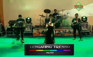 Lirik Lagu Lengahing Tresno - Vita KDI