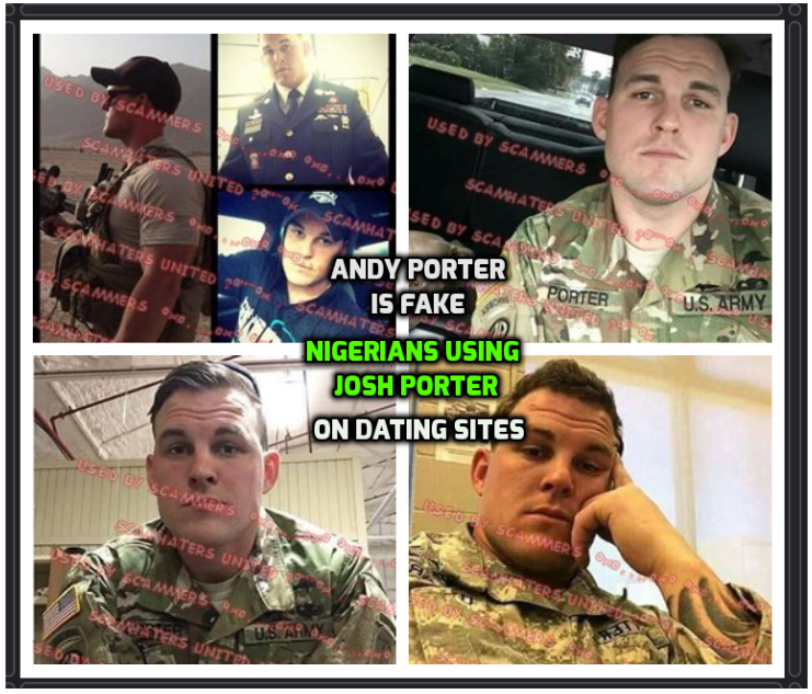 dating of scams The face military