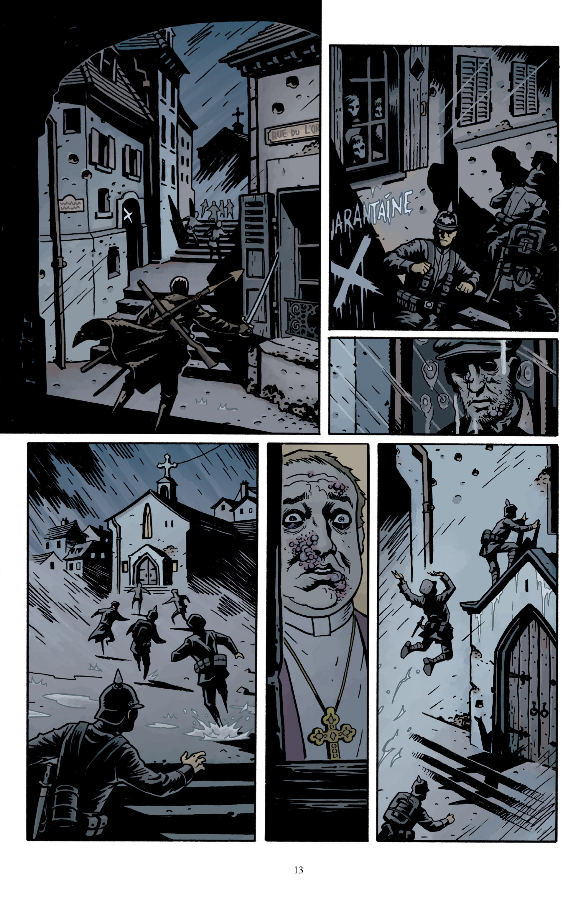 Read online Baltimore: The Plague Ships comic -  Issue # TPB - 15