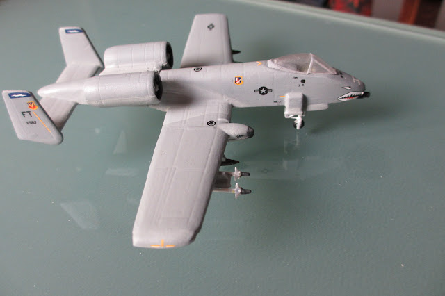 1/144 Fairchild A-10 Warthog diecast aircraft