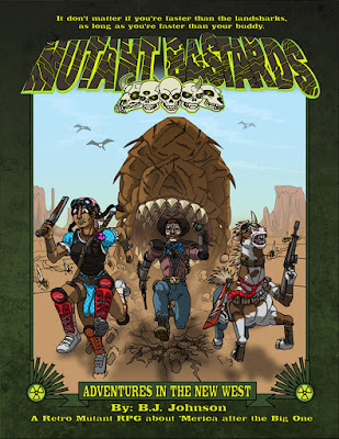 Mutant Bastards - Adventures in the New West