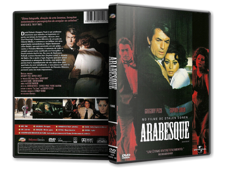 Capa DVD Arabesque