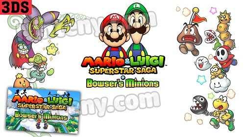 Mario & Luigi Superstar Saga + Bowser's Minions 3DS Decrypted