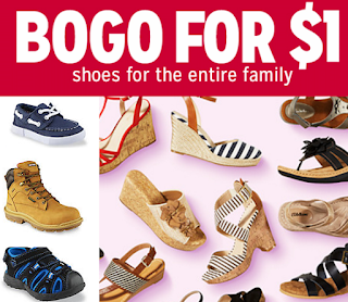 82935c78e43 Kmart Shoes Sale: Buy 1 Pair Get 1 For $1 On Men's, Women's and Kids ...