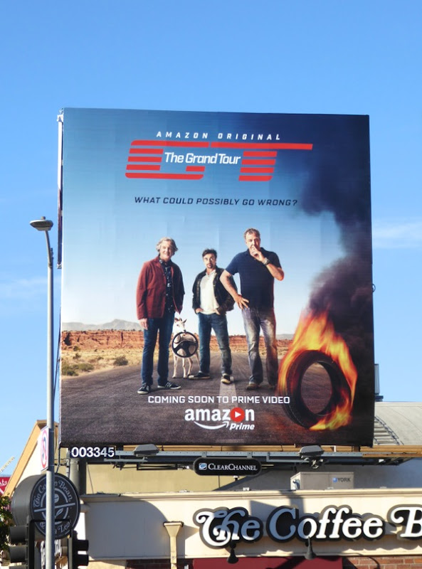 Grand Tour series premiere billboard
