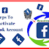 How to Reactivate A Facebook Account