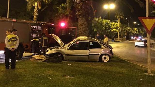 Σοβαρό τροχαίο ατύχημα στην λεωφόρο Βουλιαγμένης [ΦΩΤΟ]
