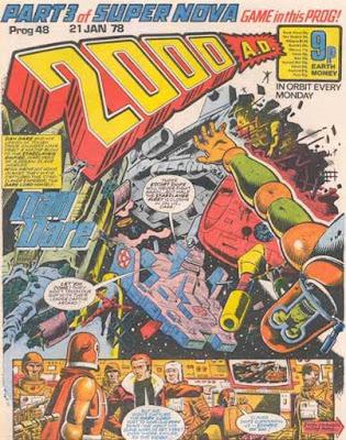 2000 AD #48, Dan Dare