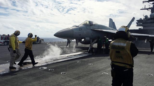 Un portaviones de EE.UU. se une a buques de guerra en los mayores ejercicios militares de Japón